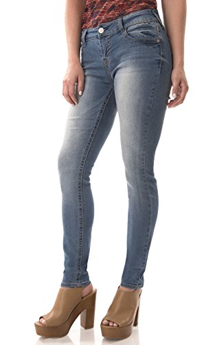 WallFlower Juniors Basic Sassy Skinny Jeans in Darcy Size:1 (Junior Jeans Size 1 compare prices)