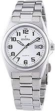 FESTINA F16375/9 - Reloj de mujer de cuarzo, correa de acero inoxidable color plata