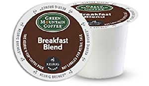 Green Mountain Coffee K-Cups, Breakfast Blend K-Cup Portion Pack for Keurig Brewers 96-Count