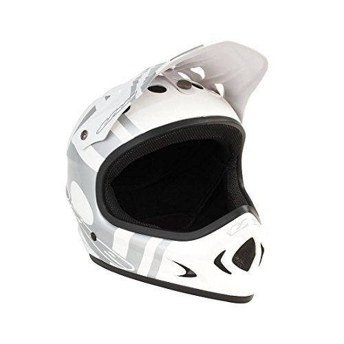 THE-Industries-Adult-The-Point5-Abs-Helmet-XX-Large-Slant-WhiteSilver
