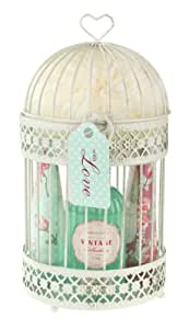 Heathcote & Ivory Vintage Collection Rose Birdcage Bath & Body Gift Set