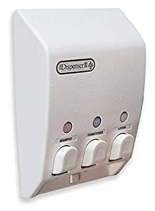 Classic Better Living 71355 Classic Three Chamber Shower Dispenser, White at Sears.com