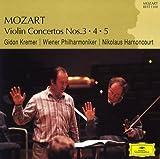 モーツァルト:ヴァイオリン協奏曲第3番&第4番&第5番