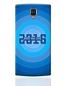 PosterGuy OnePlus 3 Case Cover - Happy New Year | Designed by: SM Creative