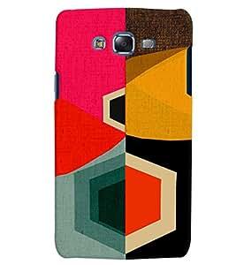 Citydreamz Colorful Abstract Modern Art Creative Design Hard Polycarbonate Designer Back Case Cover For Samsung Galaxy J5