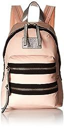 Marc by Marc Jacobs Domo Arigato Mini Packrat Backpack, Shoulder Handbag, Pearl Blush Multi, One Size