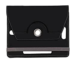 Black Stylabs Tablet Book Flip Case Cover For Domo X3d X3g X14 (Universal)