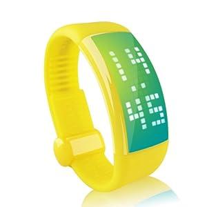 Buy Ampmall® 3D Pedemeters 4GB 8GB 16GB 32GB Multi-functional Unisex USB Flash Drive LED Watch Smart 3D Pedometer Wrist... by AMP MALL