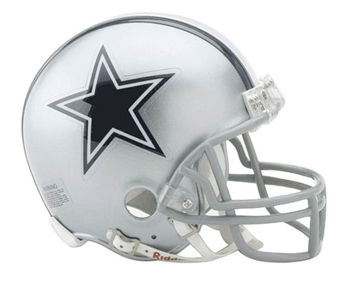 NFL Dallas Cowboys Replica Mini Football Helmet (Mini Nfl Helmets compare prices)