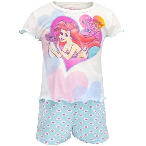 Little Mermaid - Pretty Heart Toddler Shirt And Shorts Set