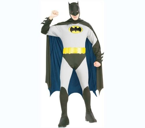 RUBIE'S Dressing up sets for adults Adult's Batman Costume size: L I 16867L