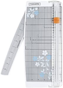 Fiskars 196920-1001, Patented Triple Track Portable Euro Paper Trimmer , 12-I