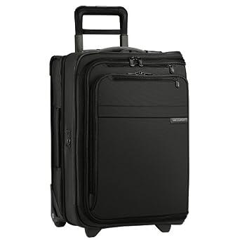 Briggs & Riley @ Baseline Luggage Baseline Domestic Carry-On Upright Garment Bag, Black, Small