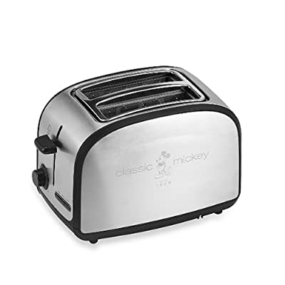Disney® Classic Mickey Mouse Two-slice Toaster