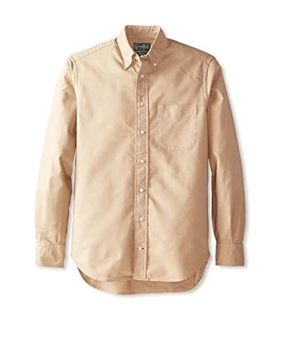 Gitman Vintage Men's Solid Button Down Sportshirt