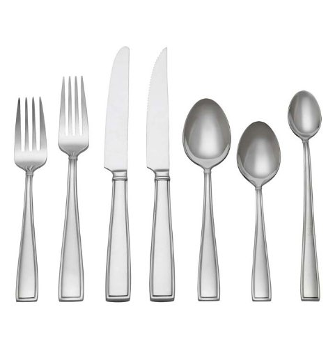 Reed & Barton Benson 108-Piece Set 18/10 Stainless Steel, Service For 12