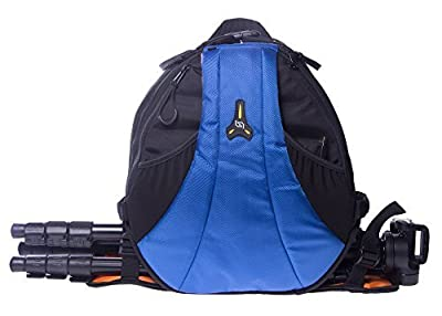 StudioPRO DSLR Camera Mini Travel Sling Bag - Blue