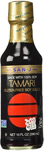 San-J Tamari Gluten Free Soy Sauce, 10 Ounce (San J Soy Sauce compare prices)