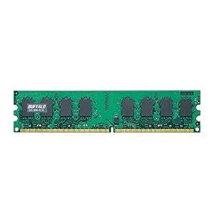 BUFFALO PC2-6400(DDR2-800)対応 240Pin用 DDR2 SDRAM DIMM D2/800-S1G