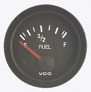 VDO 301106 Vision Style Fuel Level Gauge 2 1/18