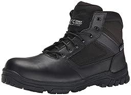Danner Men\'s Lookout Side-Zip 5.5 Inch Law Enforcement Boot, Black, 9.5 EE US