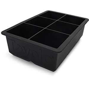 Tovolo King Cube Ice Trays Black