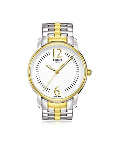 Tissot Women's T0522102203700 Two-Tone/White Stainless Steel Watch