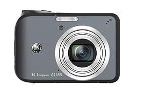 GE General Electric A1455 Digitalkamera (14 Megapixel, 5-fach opt. Zoom, 6,9 cm Display (2,7-Zoll), Auto-Panorama, Bildstabilisator) silber