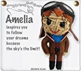 Kamibashi Amelia Earhart Original String Doll Gang Keychain Toy