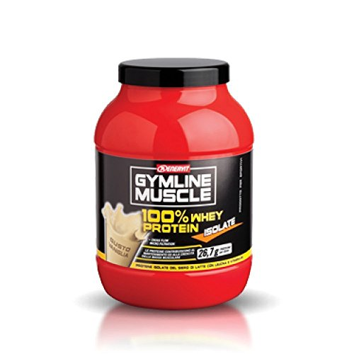 ENERVIT GYMLINE MUSCLE - 100% WHEY PROTEIN - ISOLATE - GUSTO MANDORLE - 700g