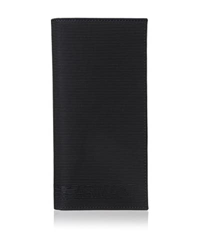 Emporio Armani Men's Bifold Wallet, Black/Nero/Blu Notte