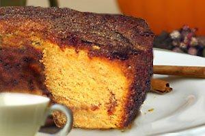 My Grandma's Pumpkin Spice Coffee Cake