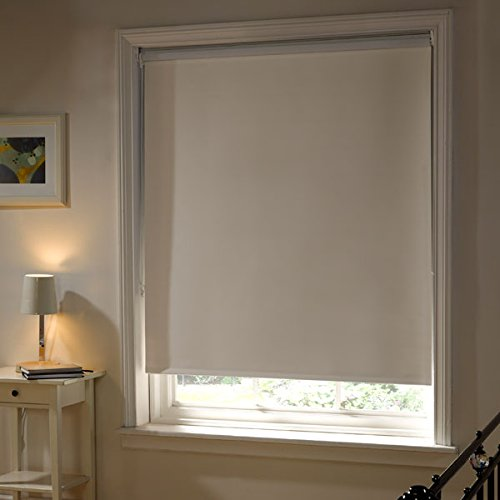 Emma Barclay Thermal Blackout Roller Blind, Cream, W90cm