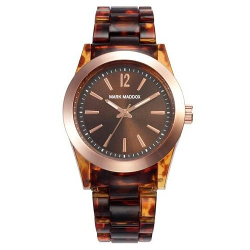 Mark Maddox MP3001-45 - Orologio da polso da donna colore marrone