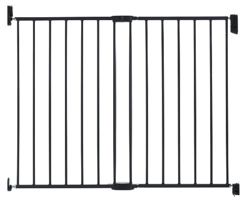 Munchkin Extending Metal Safety Gate, Dark Gray