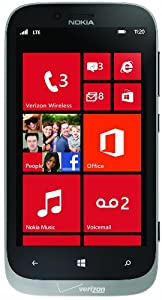 Nokia 822 4G Windows Phone, Grey (Verizon Wireless)