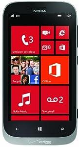 Nokia 822 4G Windows Phone, Grey (Verizon Wireless)