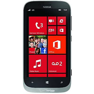 Nokia 822 4g windows phone grey verizon for Window 4g phone