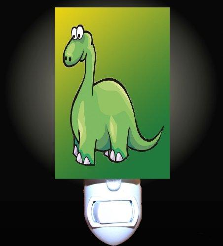 Little Green Dinosaur Decorative Night Light front-1012019
