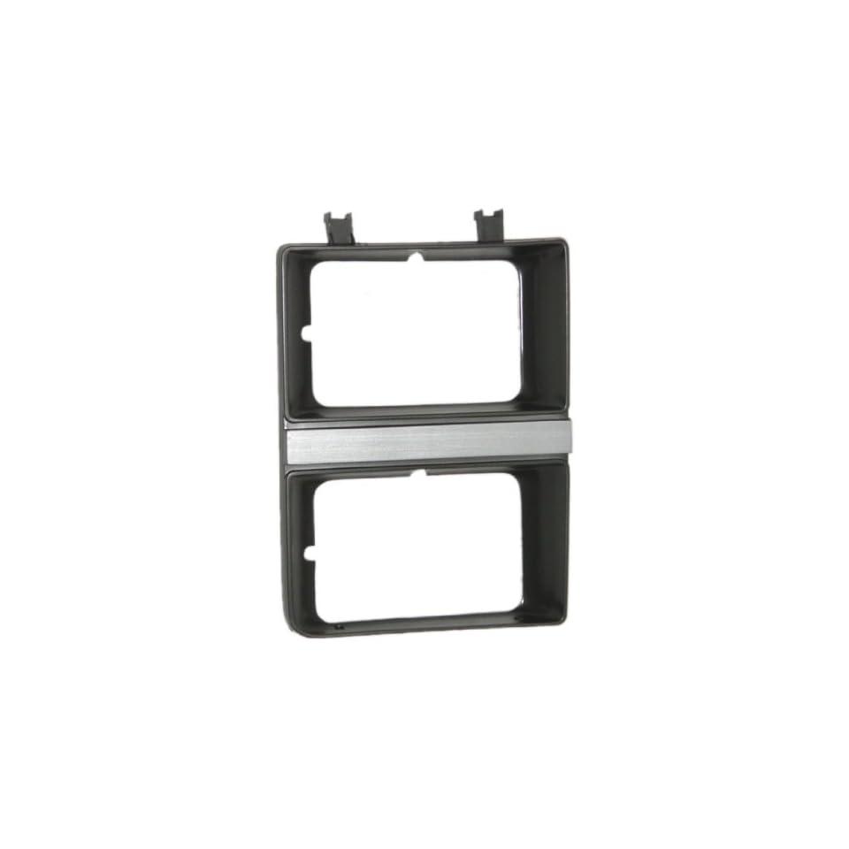OE Replacement GMC Pickup/Suburban Passenger Side Headlight Door (Partslink Number GM2513158)