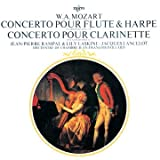 echange, troc  - Mozart : Concerto pour flûte et harpe KV 299 - Concerto pour clarinette KV 622