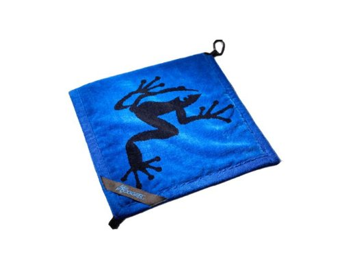 Frogger Amphibian Bamboo Terry Wet and Dry Golf Towel