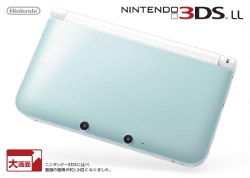 ニンテンドー3DS LL (ミントXホワイト)