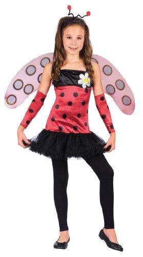 Lovely Lady Bug Ballerina Girl Costume