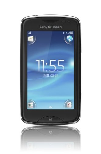 Sony Ericsson Txt Pro Ck15A Unlocked Cellphone - Us Warranty - Black