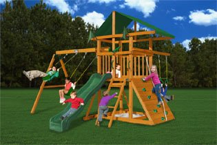 Gorilla Playsets Outing III Playground System: