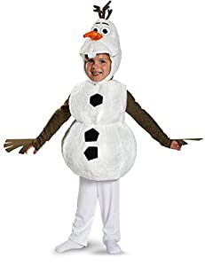 Disguise Baby's Disney Frozen Olaf Deluxe Toddler Costume by Disguise Costumes