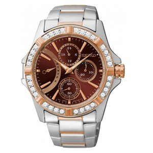 Seiko Analog Brown Dial Women's Watch - SRLZ88P1