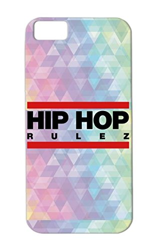 Red Freestyle Regulate Rulez Music Note Talent Real Bling Hip Hop Bold Mc Dj Vinyl Record Graffiti Mic Headphones Scratching Beat Old School Rap Music Breakdance Battle Hiphop F2 Skid-Proof Protective Hard Case For Iphone 5C