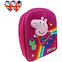 Childrens Peppa Pig 3 D Cosmic Back Pack (Pink)
